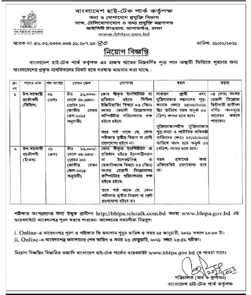 Bangladesh Fisheries Development Corporation Job Circular